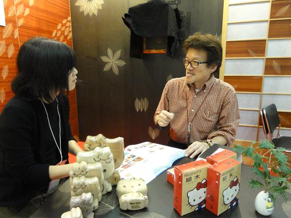 第31回西日本トータルリビングショーお客様への説明